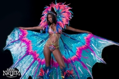 Mandarin Section leader. Large head pc, wings and feathered legs. Shown with monokini body option