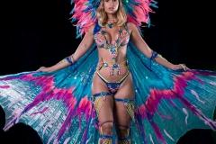 oylan baldeosingh Frontline option large head pc, wings, leg pcs . Shown with wirebra and gem bikini body option